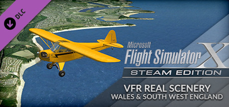 FSX: Steam Edition - VFR Real Scenery Vol. 3 (Wales & SW England)