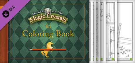 Secret of the Magic Crystals - Soundtrack and Coloring Book