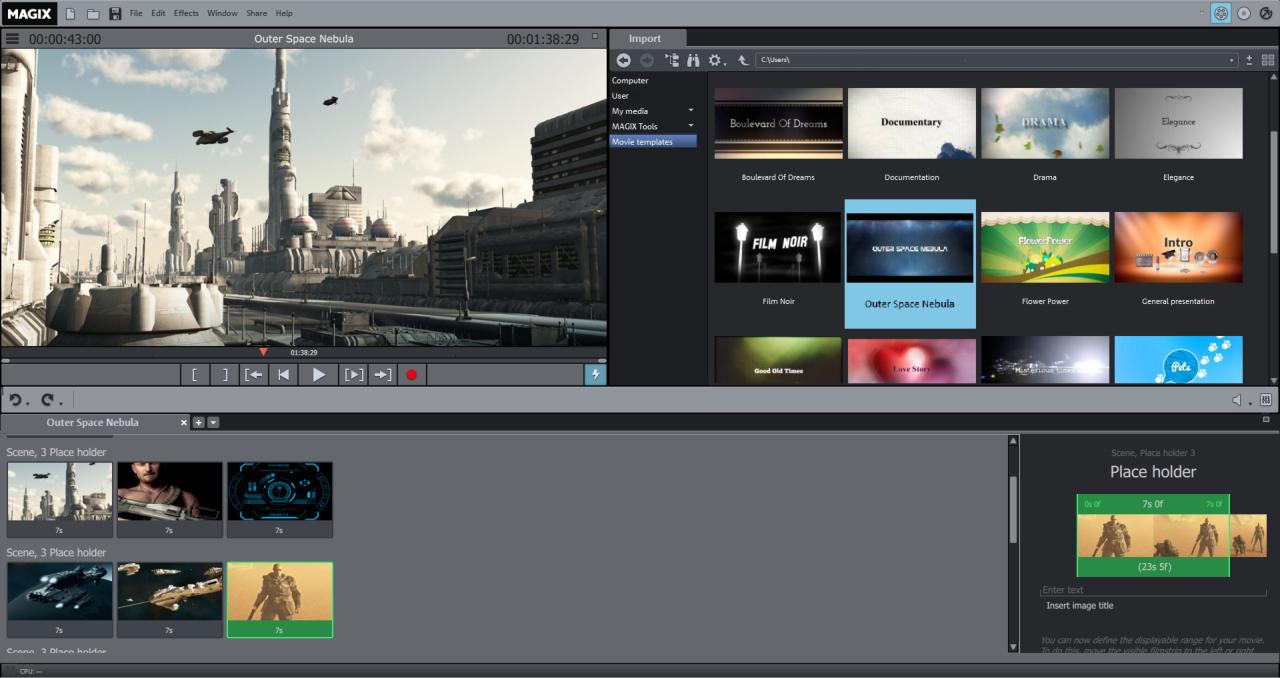 Movie Edit Pro 2015 Movie Templates On Steam