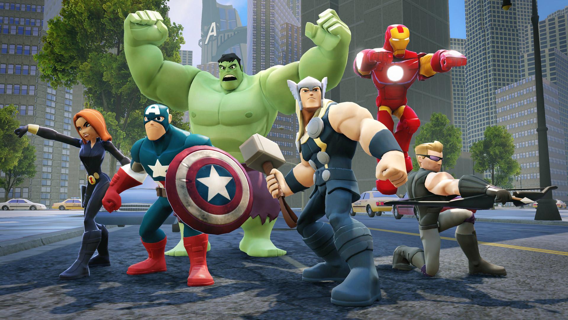 Disney Infinity 2.0 Marvel Super Heroes Multilenguaje ESPAÑOL PC (DOGE) 1