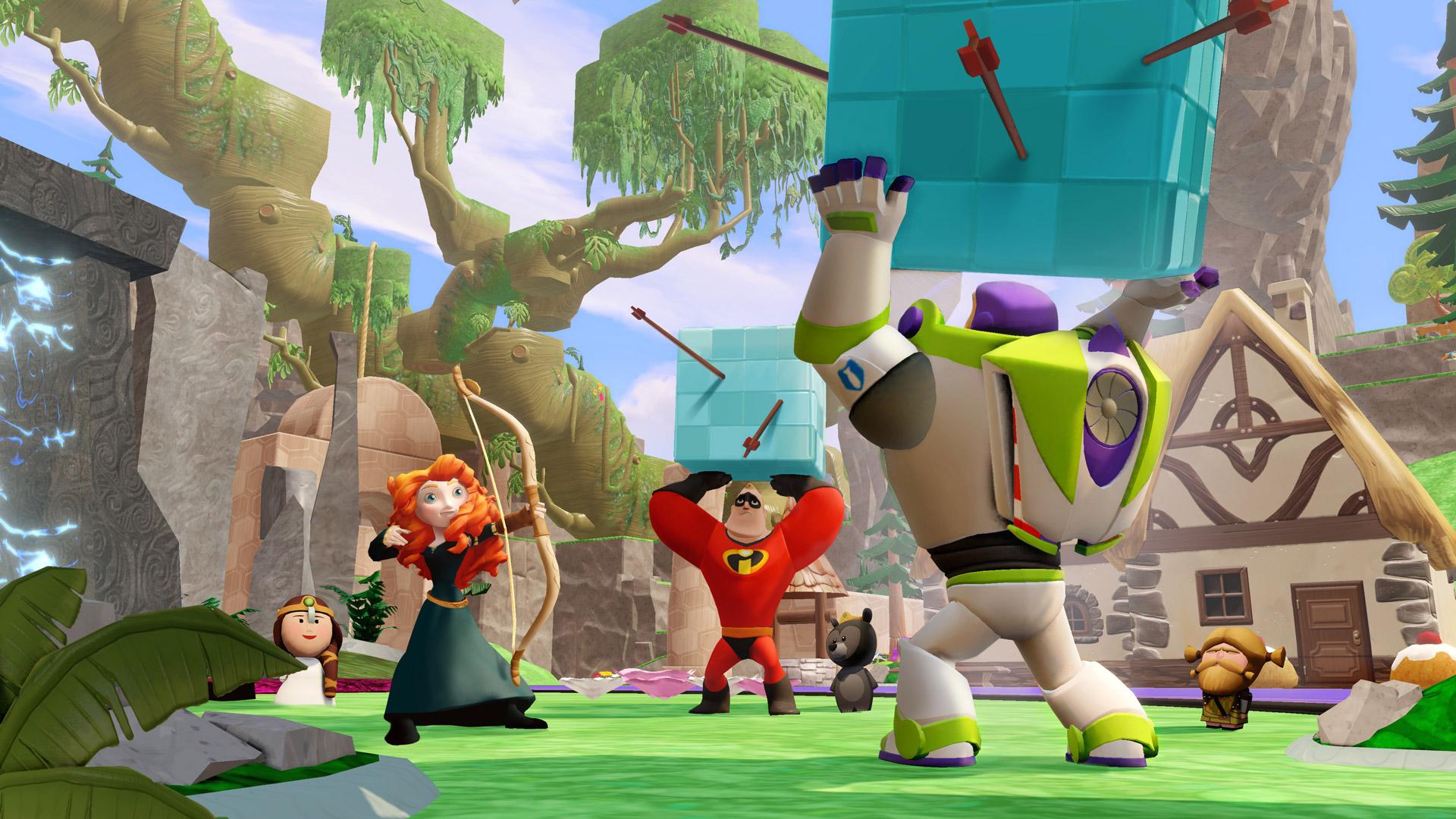 Disney Infinity 2.0 Marvel Super Heroes Multilenguaje ESPAÑOL PC (DOGE) 3