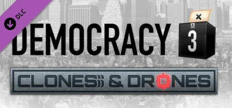 View Democracy 3: Clones and Drones on IsThereAnyDeal