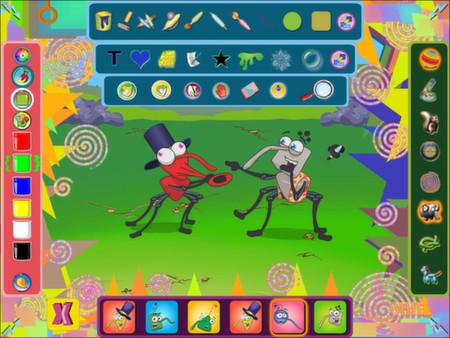 Скриншот из Bin Weevils Arty Arcade