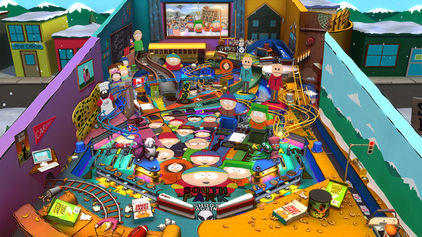 New DLC Available - Pinball FX2 - South Park Pinball