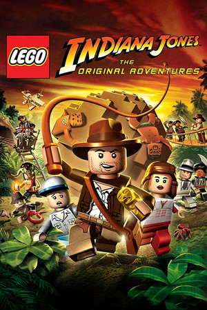 LEGO Indiana Jones: The Original Adventures poster image on Steam Backlog