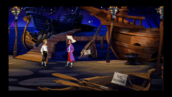 скриншот The Secret of Monkey Island: Special Edition 1
