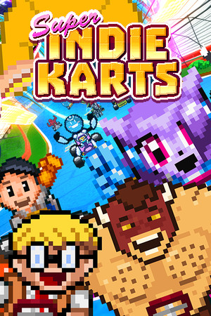 Super Indie Karts poster image on Steam Backlog