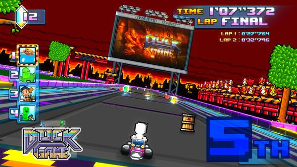 Screenshot of Super Indie Karts
