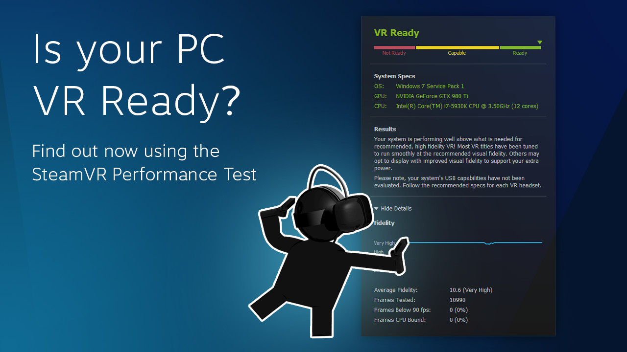 SteamVR Performance Test on Steam