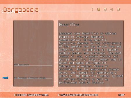 Screenshot of CLANNAD