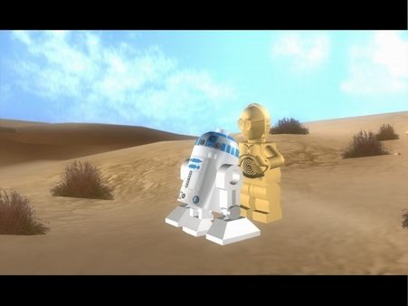 Screenshot of LEGO® Star Wars™: The Complete Saga