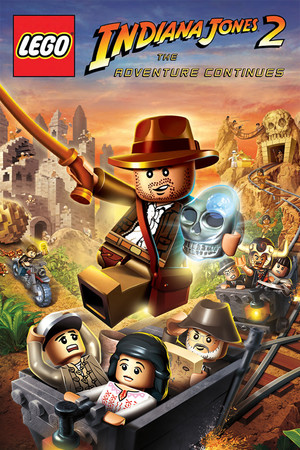 LEGO Indiana Jones 2: The Adventure Continues poster image on Steam Backlog