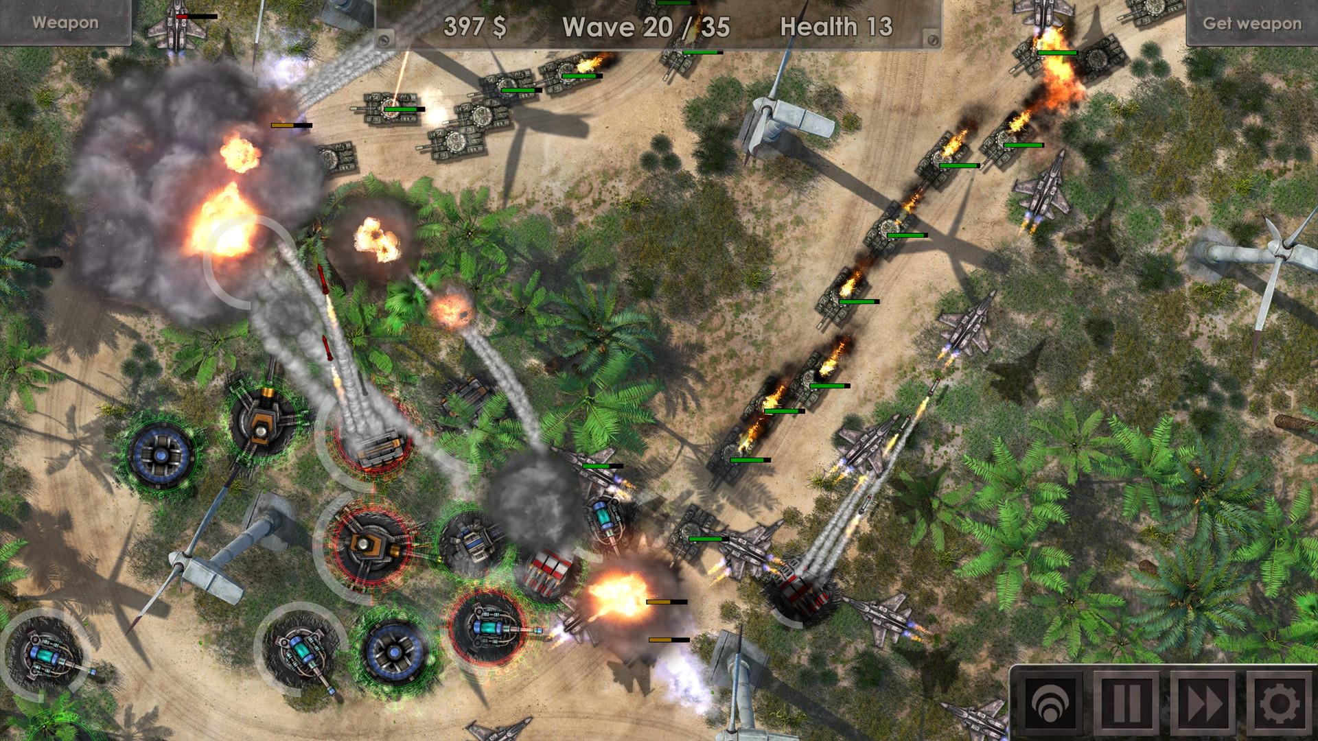 Defense Zone 3 - Game Strategi Offline Android
