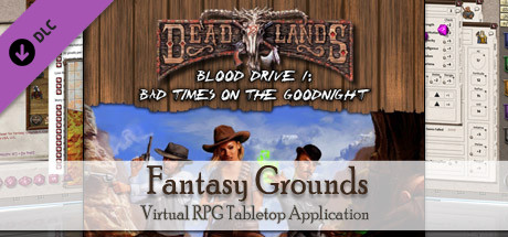 Fantasy Grounds - Deadlands Reloaded: Blood Drive 2