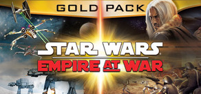 STAR WARS™ Empire at War: Gold Pack cover art