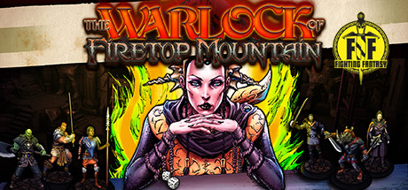 The Warlock of Firetop Mountain cover art