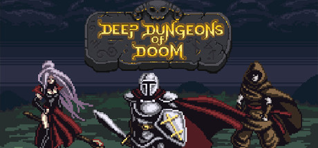 Deep Dungeons of Doom cover art