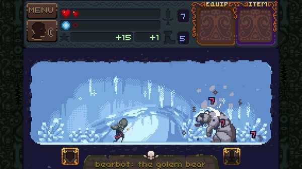 Screenshot of Deep Dungeons of Doom