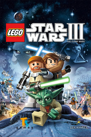 LEGO Star Wars III - The Clone Wars poster image on Steam Backlog
