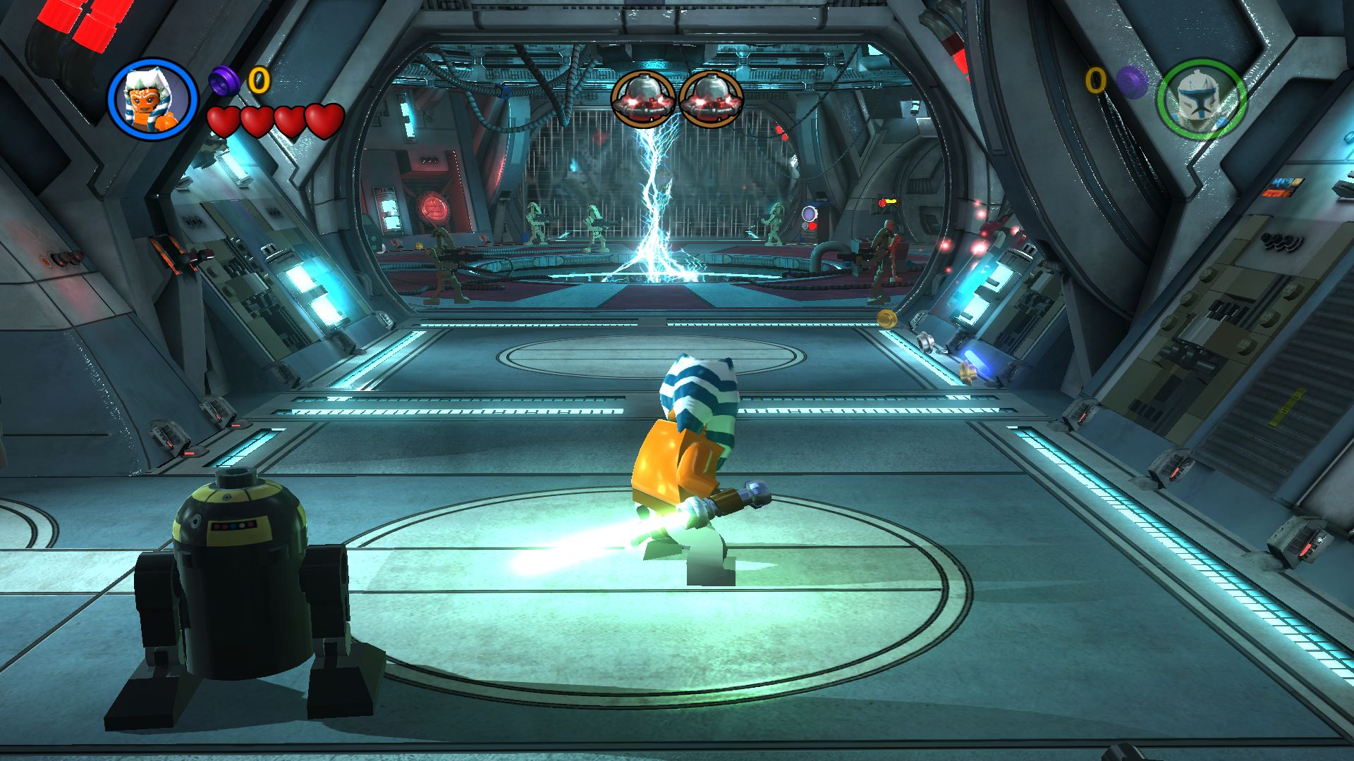 Build Some Heroes in LEGO Star Wars III: The Clone Wars