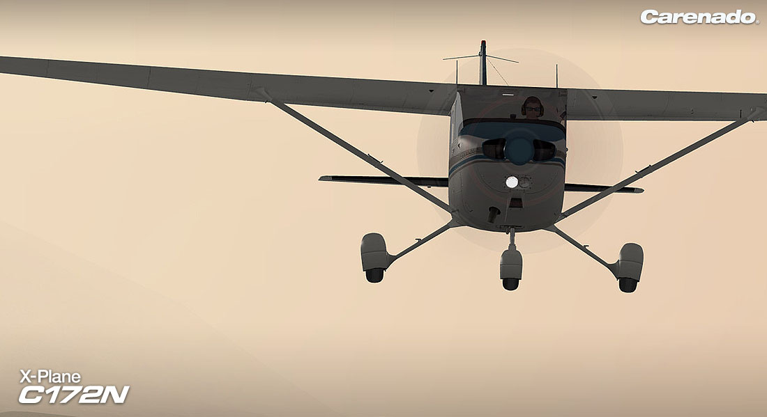 X-Plane 10 AddOn - Carenado - C172N Skyhawk II Steam Discovery