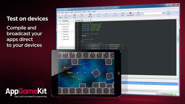 AppGameKit: Easy Game Development