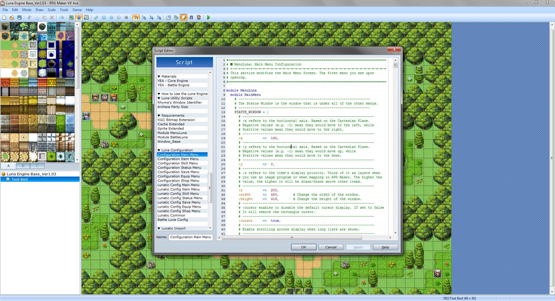 RPG Maker VX Ace - Luna Engine