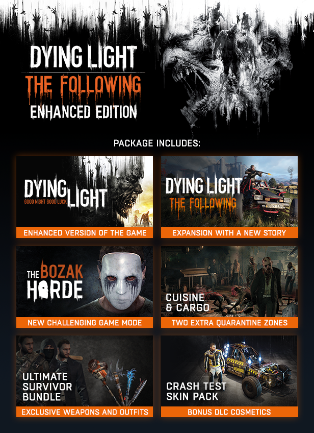 dying light the following enhanced edition torrent