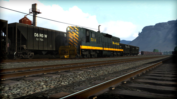 скриншот Train Simulator: D&RGW SD9 Loco Add-On 4