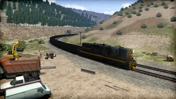 скриншот Train Simulator: D&RGW SD9 Loco Add-On 5