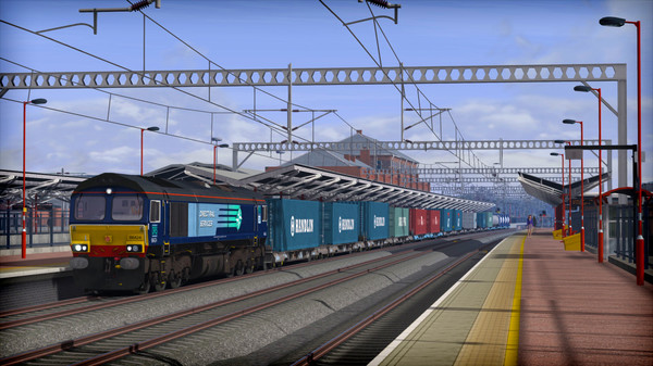 скриншот Train Simulator: WCML Trent Valley Route Add-On 0