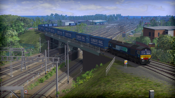 скриншот Train Simulator: WCML Trent Valley Route Add-On 1