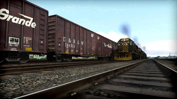 скриншот Train Simulator: D&RGW SD50 Loco Add-On 3