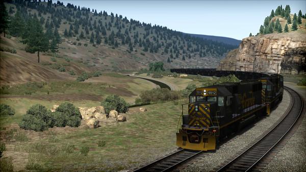 скриншот Train Simulator: D&RGW SD50 Loco Add-On 5