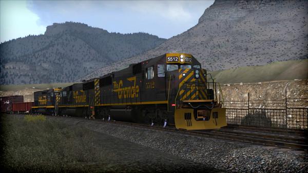 скриншот Train Simulator: D&RGW SD50 Loco Add-On 4