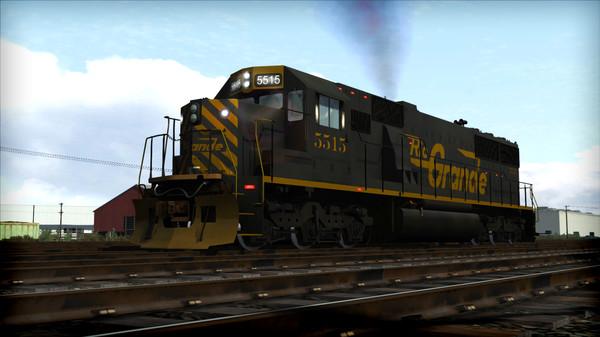 скриншот Train Simulator: D&RGW SD50 Loco Add-On 1