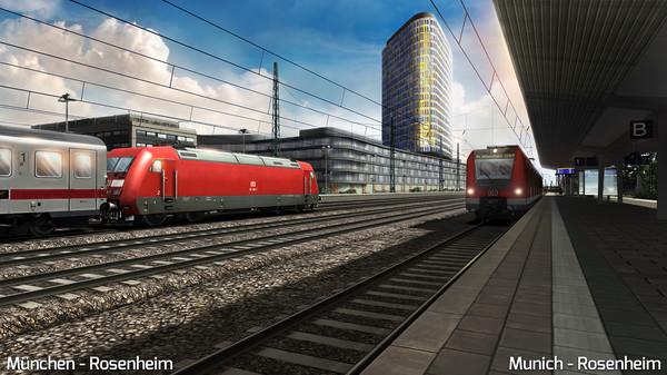 скриншот Train Simulator: Munich - Rosenheim Route Add-On 0