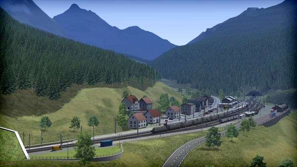 скриншот Train Simulator: Three Country Corner Route Add-On 0