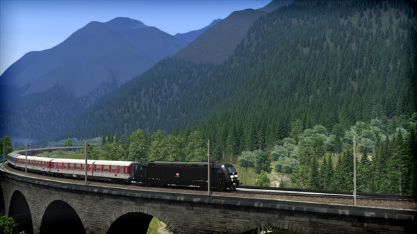 скриншот Train Simulator: Three Country Corner Route Add-On 1