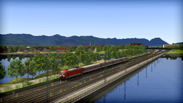 скриншот Train Simulator: Three Country Corner Route Add-On 4