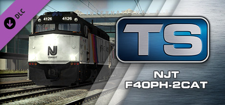 Train Simulator: NJ TRANSIT® F40PH -2CAT Loco Add-On