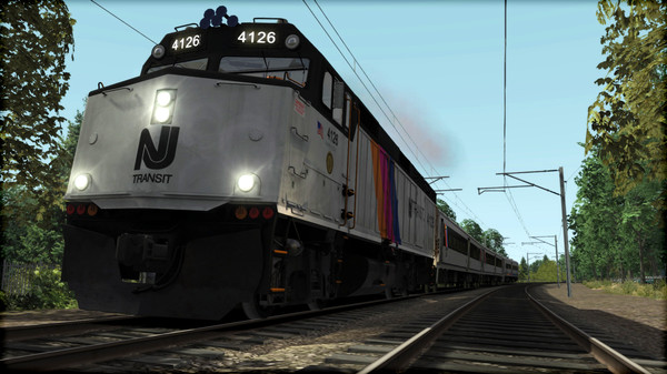 скриншот Train Simulator: NJ TRANSIT F40PH -2CAT Loco Add-On 3