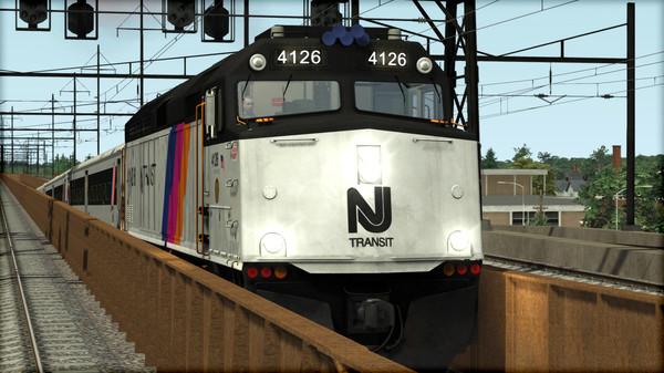 скриншот Train Simulator: NJ TRANSIT F40PH -2CAT Loco Add-On 4