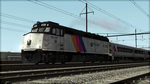 скриншот Train Simulator: NJ TRANSIT F40PH -2CAT Loco Add-On 0