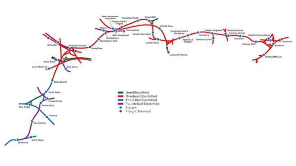 скриншот Train Simulator: North London Line Route Add-On 2