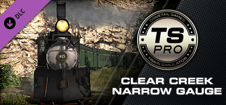 Train Simulator: Clear Creek Narrow Gauge Common Route Add-On