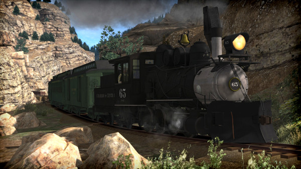 скриншот Train Simulator: Clear Creek Narrow Gauge Common Route Add-On 5