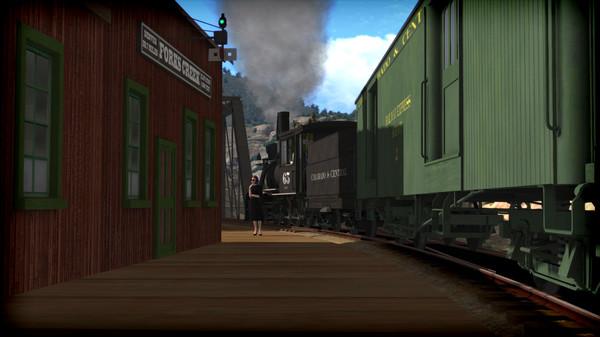 скриншот Train Simulator: Clear Creek Narrow Gauge Common Route Add-On 1
