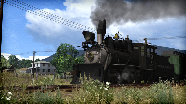 скриншот Train Simulator: Clear Creek Narrow Gauge Common Route Add-On 0