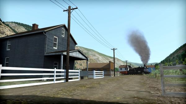 скриншот Train Simulator: Clear Creek Narrow Gauge Common Route Add-On 2